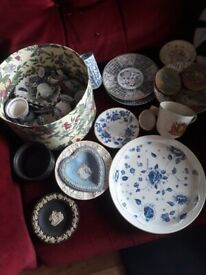 Joblot china, plates, Pool Pottery, Cauldon...
