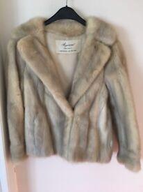 Rare Azurene Mink Fur Jacket