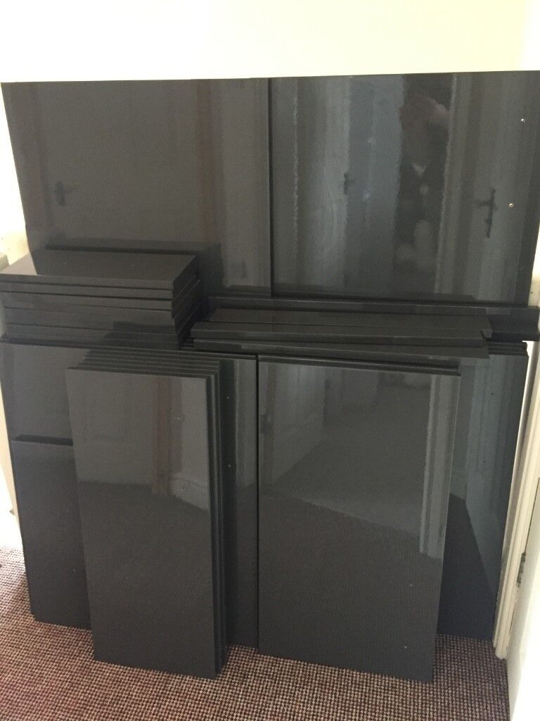 Grey High Gloss Kitchen Cupboard Doors And Drawer Fronts Various Sizes And Prices In Leicester Leicestershire Gumtree
