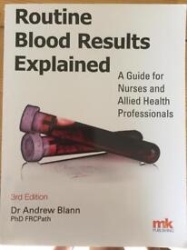 Routine blood results explained by Dr Andrew Blann