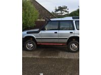 Heavily modified Land Rover discovery 1