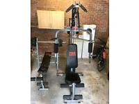 Multi gym and Weights Bench