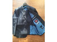 M&S 2 Piece Suit. Worn only once. Like New. Gents. Marks & Spencer. Blue