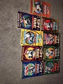 Collection of Spy Dogs Books