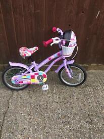 Girls bike 16inch wheels