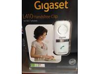 Gigaset L410 hands free clip DECT phone compatible bnib