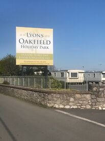 Cheap static caravan for sale in North Wales Oakfields caravan park Kimmel bay towyn