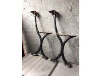 Walter Macfarlane & Co Glasgow Victorian Cast Iron Bench Ends Bandstand Bench W-R