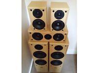 Acoustic Solution Home Cinema Speaker Set