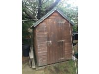 Free garden shed and compost bins