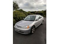 2003 Honda Civic Coupe 1.7i, ONLY 59K miles, ONE OWNER FROM NEW.