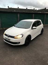 vw gtd 2.0 litre white