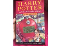 Harry Potter and the philosopher's stone, original cover