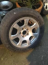 BMW genuine alloy wheels X4