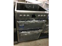 SAVE £100.00 BEKO BDVC674MS 60 cm Electric Ceramic Cooker