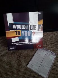 Would i Lie to You? + Guess Who? Board Games