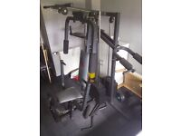 Multi Gym All in One Profesionall WEIDER - MADE IN CANADA - VERY GOOD CONDITION