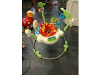 Fisherprice Rainforest Jumperoo - reduced price on 19/6...