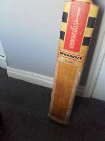 Cricket Bats x2, Helmet, Batting pads x2, Batting gloves & other bits. Will sell Seperate