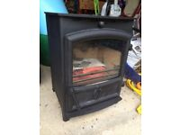 Wood burning stove as new Fireline FX5/FP5
