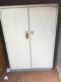 LOVELY LITTLE VINTAGE SMALL WARDROBE IDEAL FOR CHILDREN - CAN DELIVER
