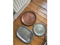 Job lot vintage trays