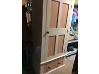 Lovely Solid pine wardrobe with drawer