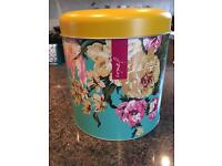 Joules biscuit tin