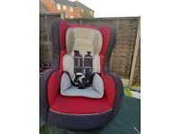 Mothercare red car seat