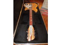 Rickenbacker 360 12 string electric guitar - Maple Glo - USA 2004 - Minter