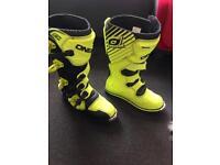 Motocross enduro boots
