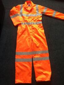 Approved PPE waterproof overall size M