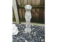 Lovely new large meerkat statue/ornament for the garden