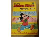 MICKEY MOUSE ANNUAL 1977