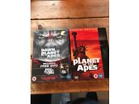 Planet of the Apes Bundle, ALL FILMS, OLD AND NEW