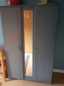Double door wardrobe up-cycle project