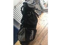 Women's full golf set and bag