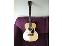 DRL 8 STRING ACOUSTIC GUITAR with FISHMAN PICK UP BUILT IN