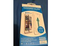2 iPhone 7 tempered glass screen protectors x2