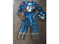 Captain America 3-4 years kids
