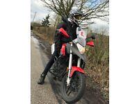 125cc Sinnis Terrain Motorbike