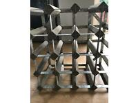 Habitat wine rack