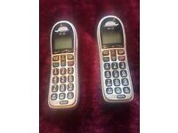 BT TWIN CORDLESS PHONES