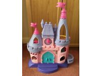 Fisher Price Little People princess castle with carriage