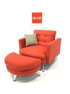 WAS $699 NOW $250.00 Brand New Dillard Chair available in CORAL Dark Grey and Navy Blue @ dex10