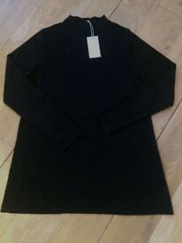 COS black wool jumper. Brand new size S