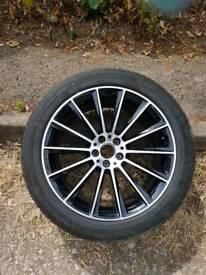"""Mercedes 20"""" amg alloy wheel"""
