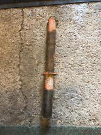 Belle cement mixer pin