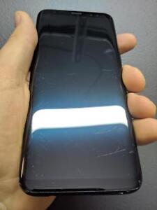 Galaxy S8 64 GB Black Unlocked -- 30-day warranty, blacklist guarantee, delivered to your door