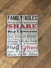Family rules picture